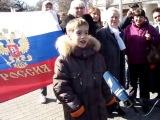 Маленький мальчик о возвращении Крыма и Севастополя в состав России