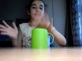 Игра со стаканчиком на ускорение!